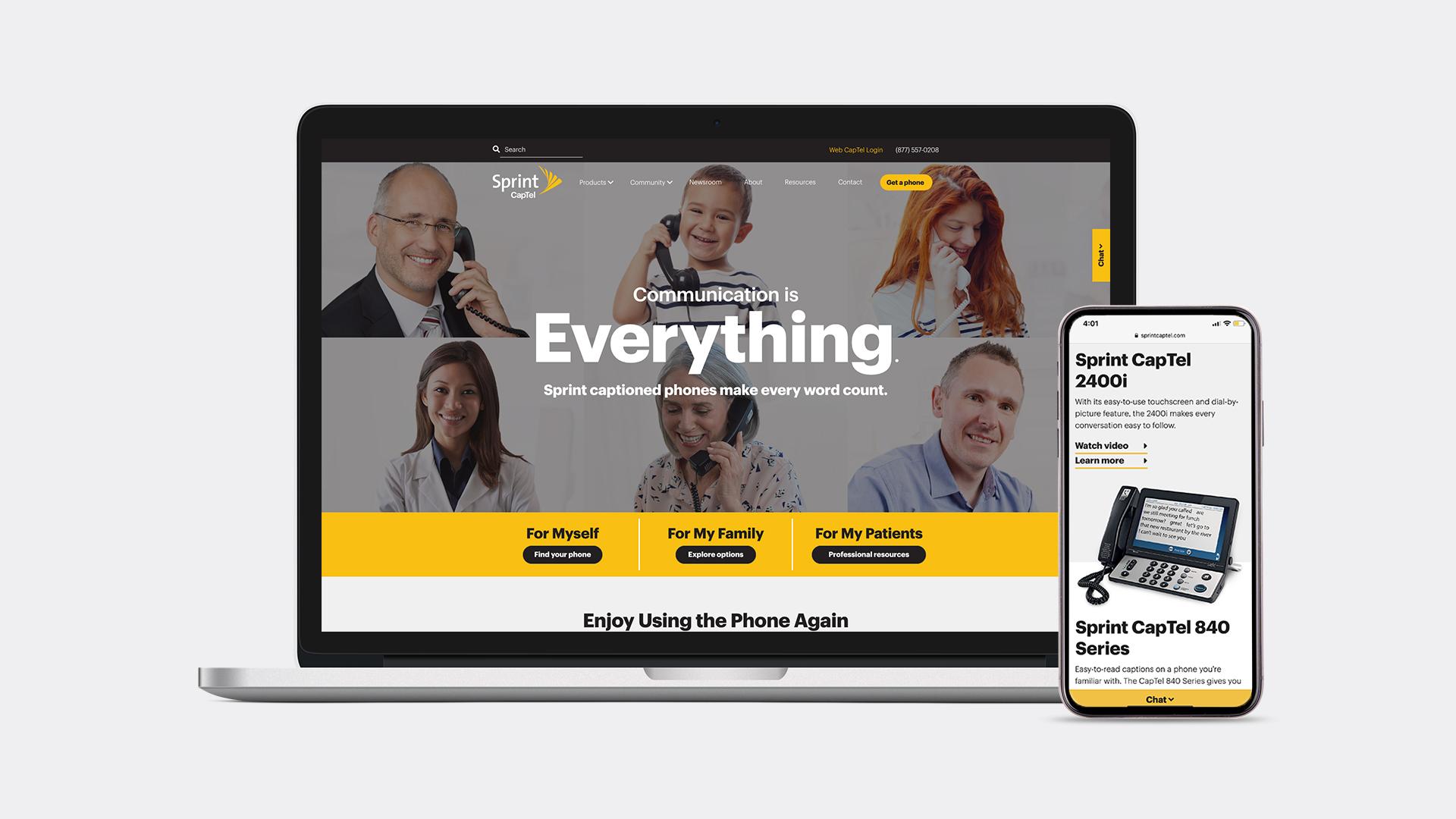 SprintCapTel_Website